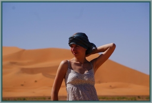 Erg Chebbi, Merzouga, Maroko.