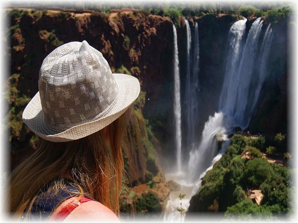 Ouzoud. Najwyższy w całej północnej Afryce wodospad.