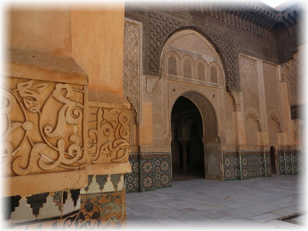 Medresa ibn Jakuba w Marrakeszu.