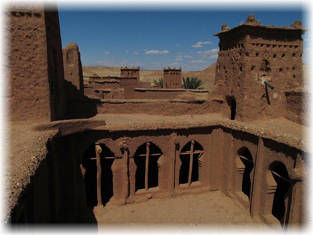 Maroko. Kasba w Aït Benhaddou.