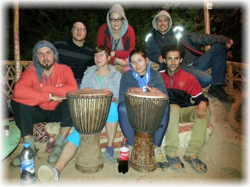 Ouzoud. Polsko-berberskie granie i śpiewanie.