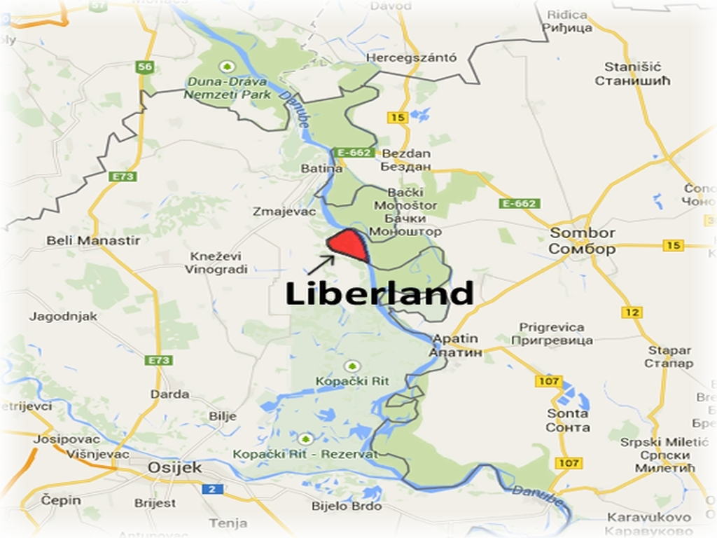 Liberland, 47 organizm państwowy w Europie!